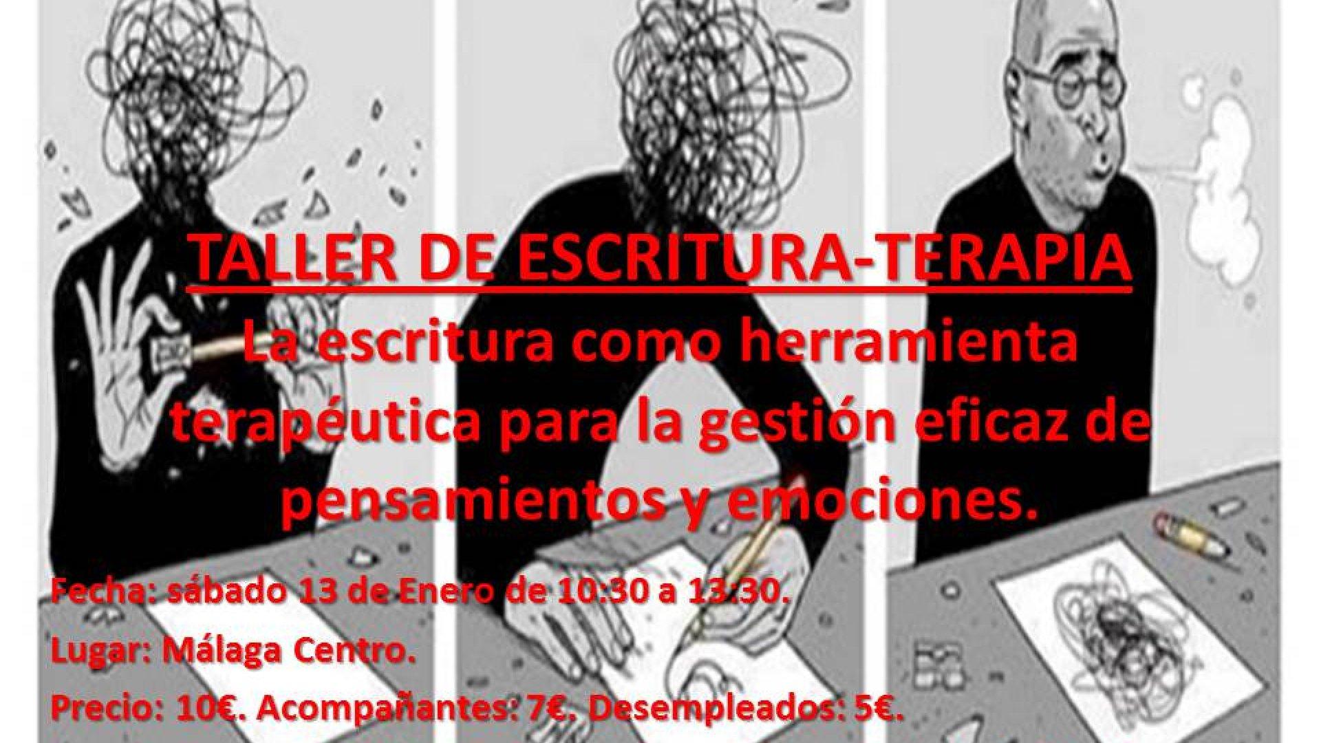 TALLER DE ESCRITURA-TERAPIA