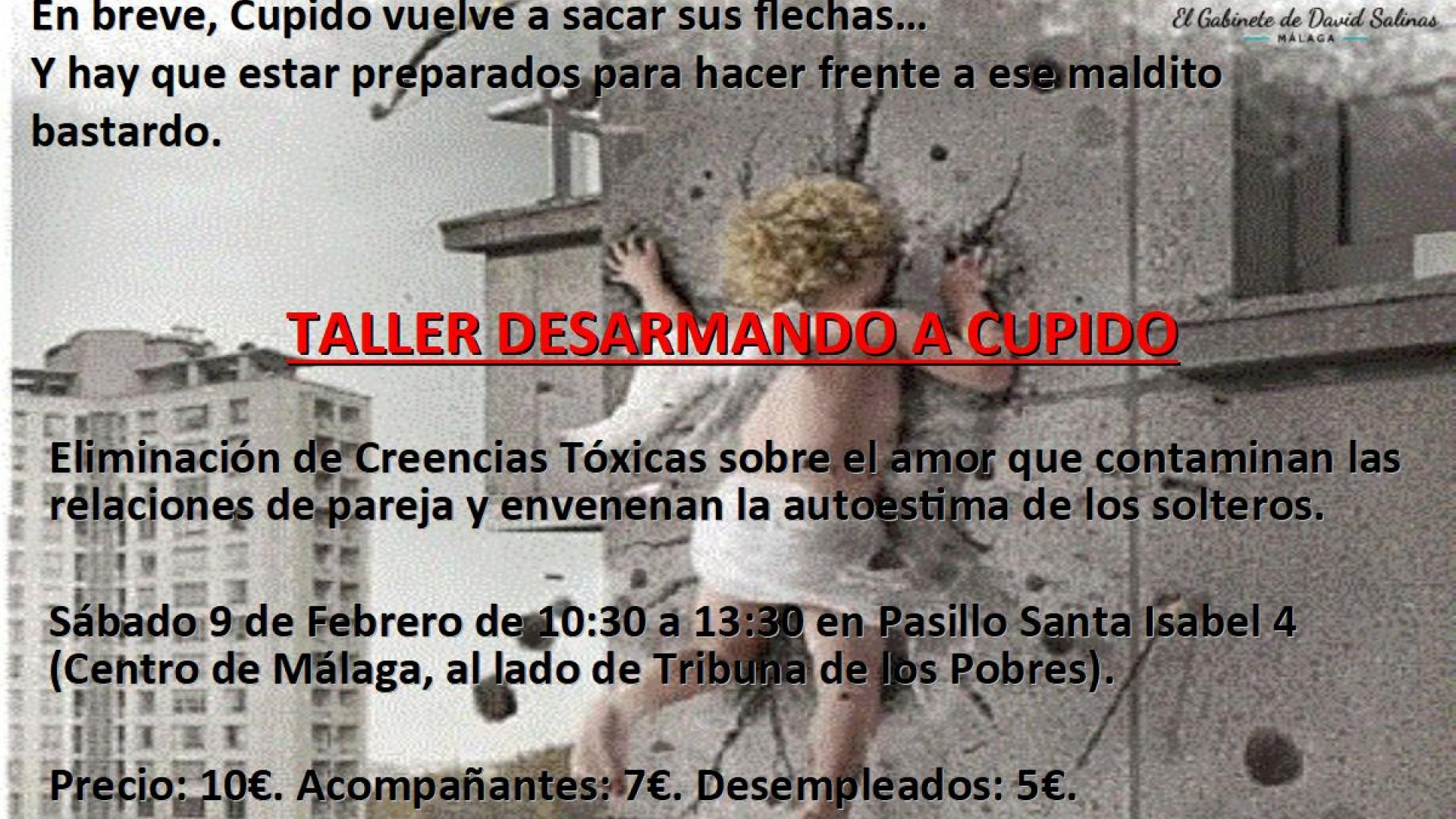 TALLER DESARMANDO A CUPIDO